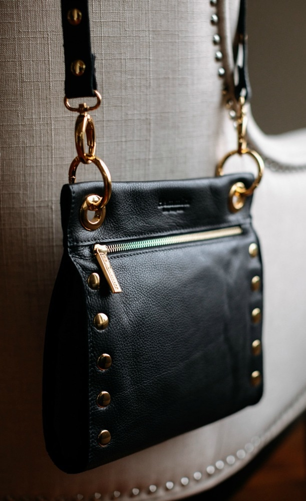 Paul Leather Crossbody With Gold Hardware By Hammitt